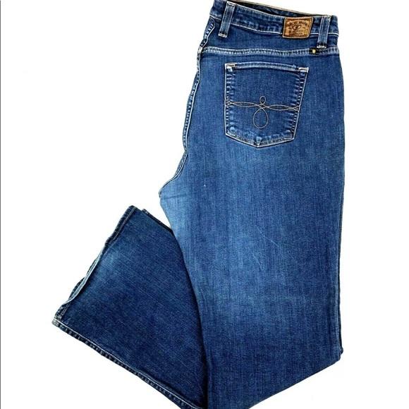 Lucky Brand Denim - Lucky Brand Ginger Boot Denim Jeans Blue Pants
